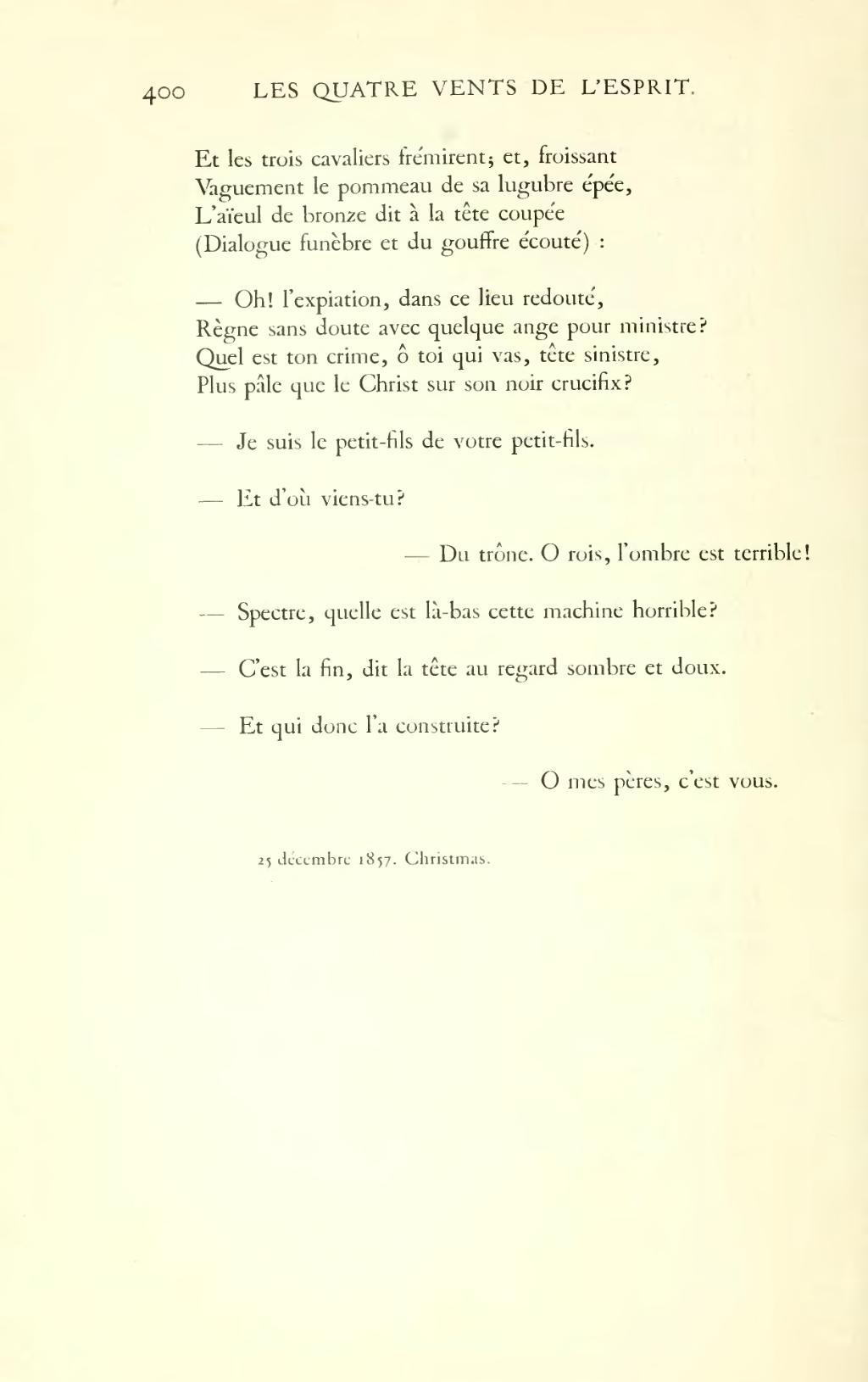 Pagehugo œuvres Complètes Impr Nat Poésie Tome X
