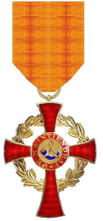 Order of the House of Orange - Image: Huisorde van Oranje Ridderkruis