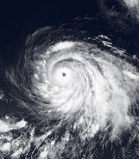 Hurricane Guillermo (1997) Category 5 Pacific hurricane in 1997