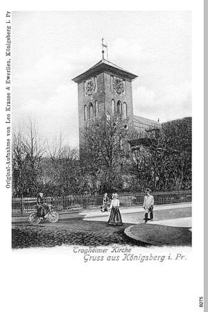 Tragheim Church - Image: ID003845 B275 Tragheimer Kirche