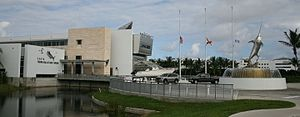 International Game Fish Association - The front of the IGFA Hall of Fame and Museum in Dania Beach, Florida, United States