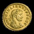 INC-1821-a Ауреус Юлиан I ок. 284-285 гг. (аверс).png