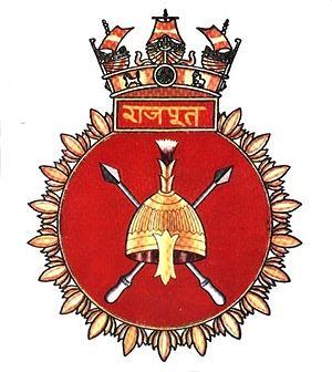 INS Rajput (D51) - Seal of INS Rajput