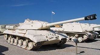 IS-3 (tank) - Image: IS 3 latrun 2