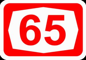 Highway 66 (Israel) - Image: ISR HW65