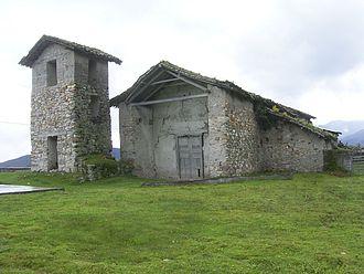 Chachapoyas Province - The church of Chiliquín, Amazonas.
