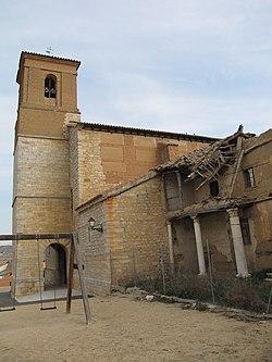 Iglesia de San Román de Hornija - Vista general 2.jpg