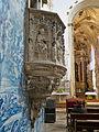 Iglesia del Monasterio de Santa Cruz, Coimbra. Púlpito.jpg