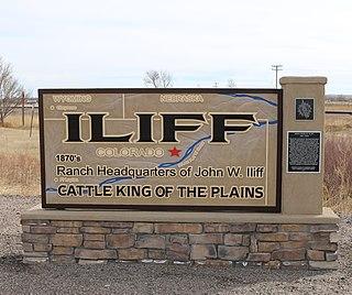 Iliff, Colorado Town in Colorado, United States