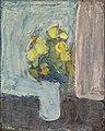 Immanuel Ibsen - Opstilling med gule blomster - ca. 1940.jpg