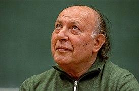 Imre Kertész (1929-) Hungarian writer II. by Csaba Segesvári.JPG