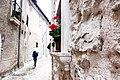 In giro per il centro storico di Opi..JPG