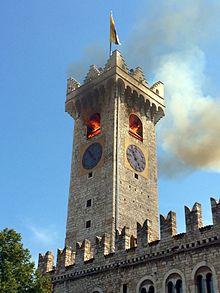 Incendio della Torre Civica di Trento, 4 agosto 2015