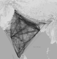 Indian Railways Reachability Map.png