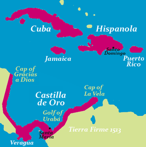 Governorate of Cuba - Image: Indias 1513