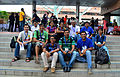 Indic Wikipedian meetup, 09 August 2013, Wikimania, Hong Kong 04.jpg