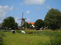 Wind mill in Leeuwarderadeel