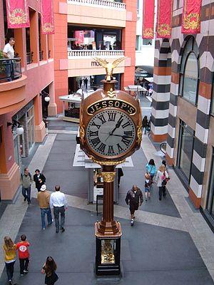 Jessop's Clock - The clock in 2009
