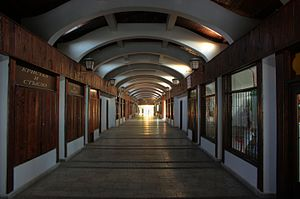 Covered Bridge, Lovech - Inside the Covered Bridge