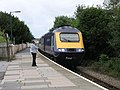 Intercity train stops at rural Kilgetty station - geograph.org.uk - 507935.jpg