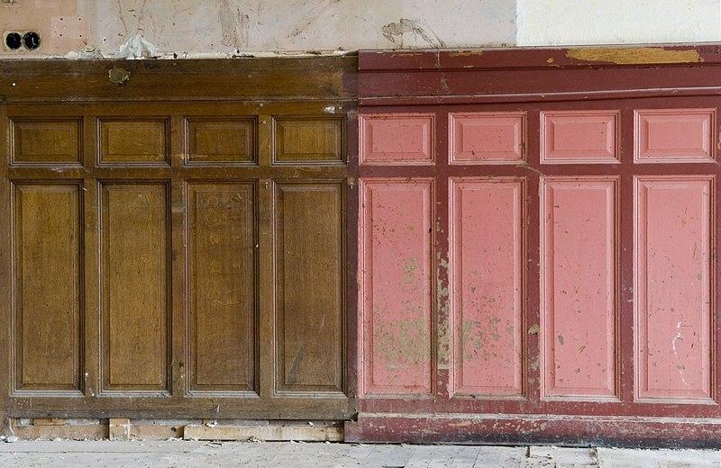 File interieur lambrisering in de kantoorruimte aan de voorzijde gelegen aan het prins for Kantoorruimte