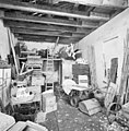 Interieur speelhuis, overzicht ruimte onder zolder - Lisse - 20340652 - RCE.jpg