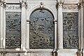 Interior of Santi Giovanni e Paolo (Venice) - Chapel of St. Dominic - Part left.jpg