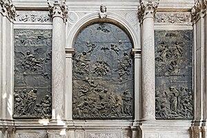 Giuseppe Maria Mazza - Image: Interior of Santi Giovanni e Paolo (Venice) Chapel of St. Dominic Part left