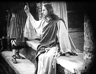 "Intolerance (film) - Howard Gaye as the Nazarene: ""He that is without sin among you, let him first cast a stone at her."""