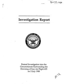 Iran Air Flight 655 investigation.djvu