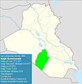 Iraqi parliamentary election, 2010 result-Najaf.jpg