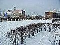 Irkutsk. February 2013. Barguzin, regional court, bus stop Volga, Diagnostic Center. - panoramio (16).jpg