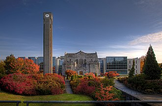 University of British Columbia Library - The Irving K. Barber Learning Centre, built around the Main Library