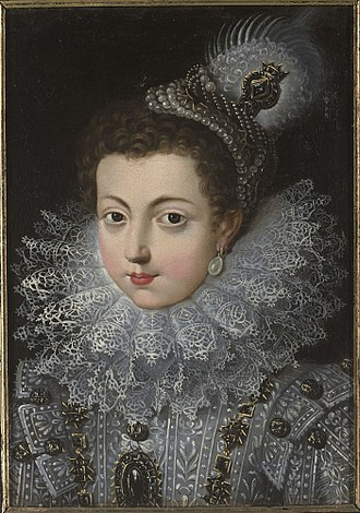 Elisabeth of France (1602–1644) - Elisabeth as young girl in France