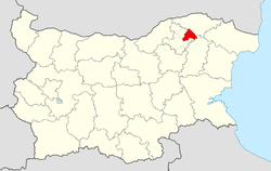 Isperih Municipality within Bulgaria and Razgrad Province.