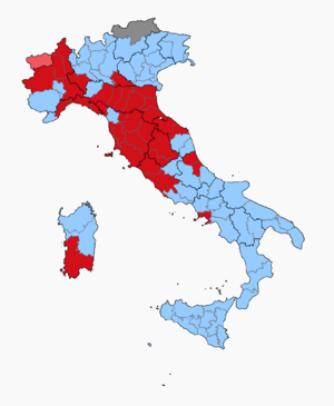 Italian general election, 1976 - Image: Italian Election 1976 Province