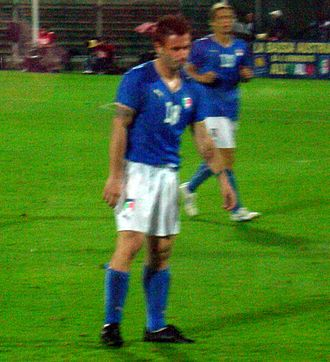 Serie A Young Footballer of the Year - Antonio Cassano, who has won the Serie A Young Footballer of the Year award twice