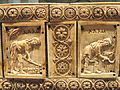Ivory Box with Scenes of Adam and Eve, 1000-1100s AD, Byzantine, Constantinople, ivory, wood - Cleveland Museum of Art - DSC08382.JPG