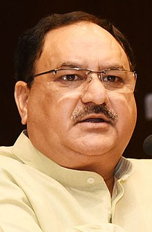 J.P. Nadda in New Delhi - 2018 (cropped).jpg
