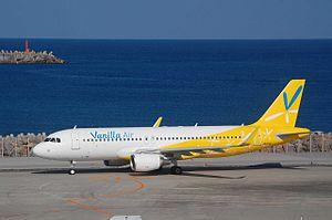 Vanilla Air - A Vanilla Air Airbus A320. (2014)