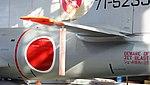 JASDF T-33A(71-5239) left horizontal stabilizer left rear view at Hamamatsu Air Base Publication Center November 24, 2014.jpg