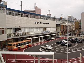 Nishi-Akashi Station railway station in Akashi, Hyōgo prefecture, Japan