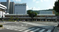 JR West Otsu Station Main Gate 4.jpg