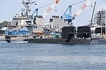 JS Seiryū(SS-509) right front view at U.S. Fleet Activities Yokosuka April 30, 2018.jpg