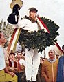 Jackie Stewart vainqueur de son premier Grand Prix en F1 (Monza 1965).jpg