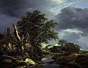 Jacob van Ruisdael (1628-1629-1682) - Landscape with a Blasted Tree near a House - 84 - Fitzwilliam Museum.jpg