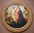 Jacopo del sellaio, madonna col bambino, san giovannino e angelo, 1485 ca..JPG