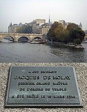 JacquesDeMolayRestingPlace