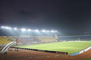 2015 Indonesia Super League - Image: Jalak Harupat Stadium (5)