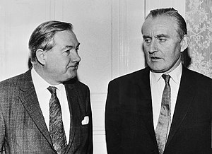 James Callaghan - Callaghan in 1970 (left), with the Prime Minister of Northern Ireland James Chichester-Clark